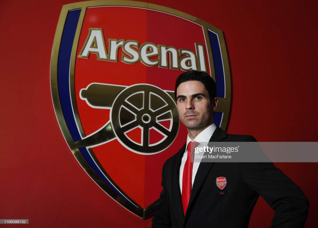 Arsenal Head Coach Mikel Arteta At Emirates Stadium On December 20 Picture Id1195098132?s=28