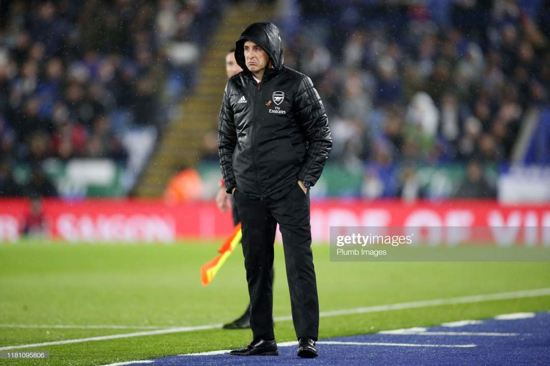 Arsenal Manager Unai Emery During The Premier League Match Between Picture Id1181095806?s=28