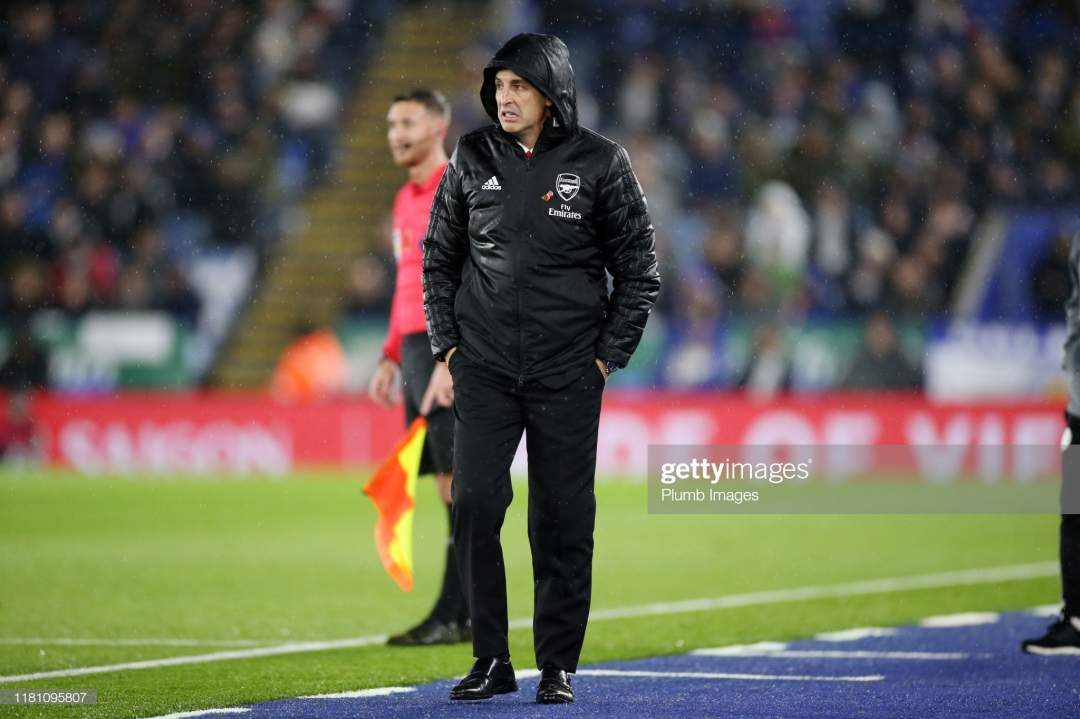 Arsenal Manager Unai Emery During The Premier League Match Between Picture Id1181095807?s=28