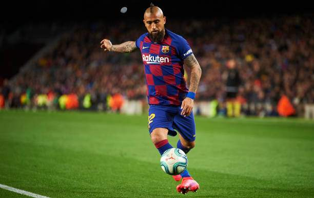 Arturo Vidal Of Fc Barcelona In Action During The Liga Match Between Picture Id1211017020?k=6&m=1211017020&s=&w=0&h=A_P3cPGox_mATqCuUEY6UdS5QKOVEhogq7oNoCG9vug=