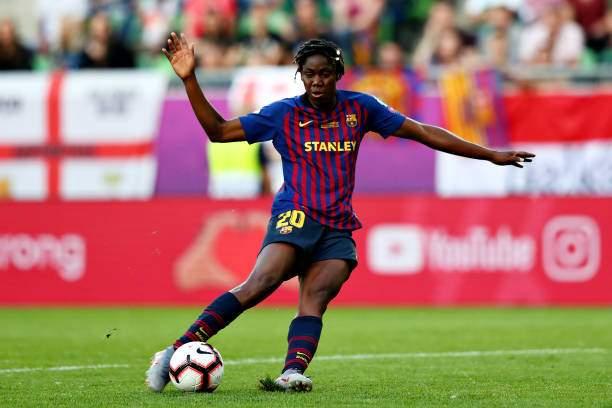 Asisat Oshoala Of Fc Barcelona Women Scores Her Sides First Goal The Picture Id1150114428?k=6&m=1150114428&s=&w=0&h=_m1i3NMaTuYHmX7QT6bzrNYOSAGvbRvloQ_Ig3BaH0g=