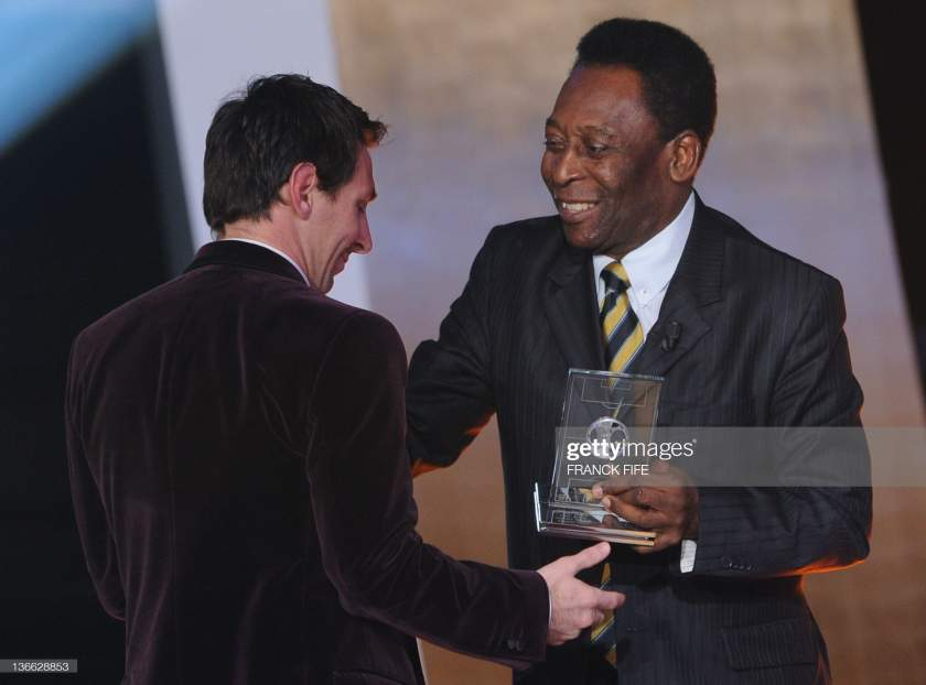 LaLiga: Pele reacts as Messi equals his record
