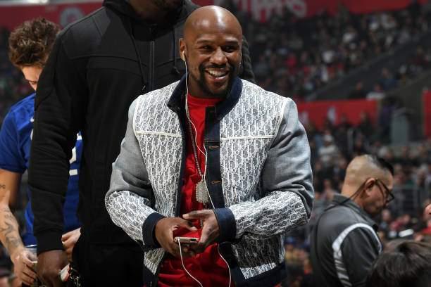 Boxer Floyd Mayweather Attends The Game Between The Clippers And On Picture Id1183681384?k=6&m=1183681384&s=&w=0&h=Mjx4Z0IMQtDZC94iAC0I2IZvzrQ573snFT0zmWrHNXY=