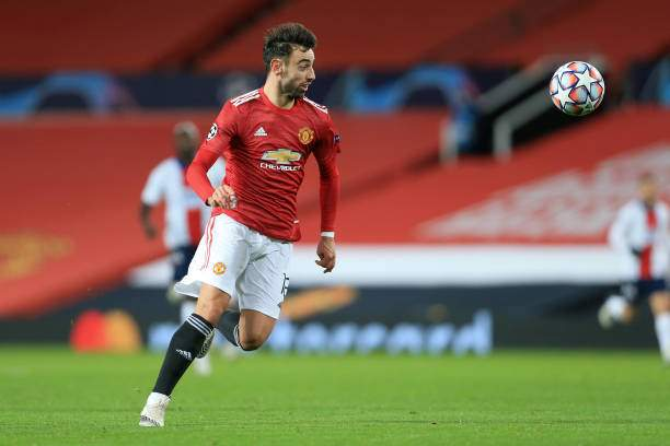 EPL: Man Utd set to double Bruno Fernandes' wages