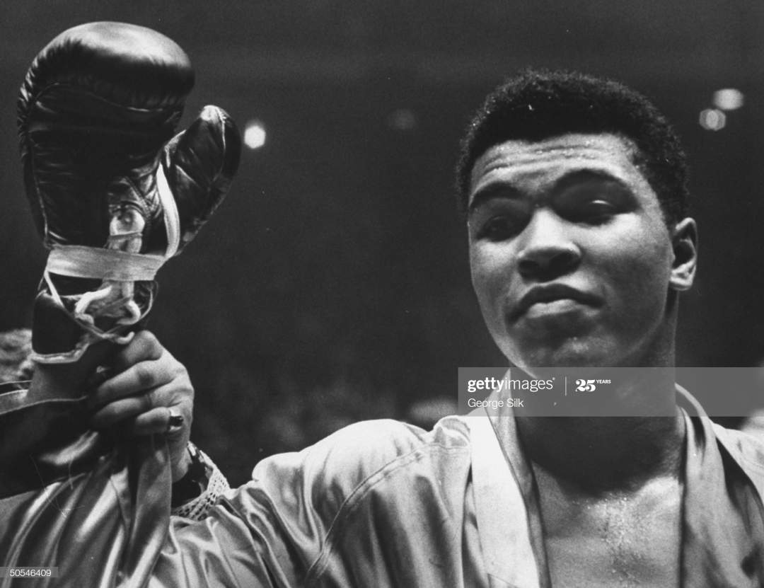 Cassius Clay After Defeating Doug Jones In Close Heavyweight Bout In Picture Id50546409?s=28
