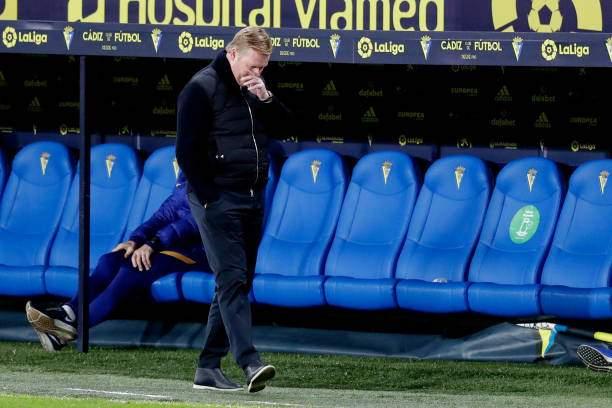 LaLiga: Koeman reveals why Barcelona lost 2-1 to Cadiz
