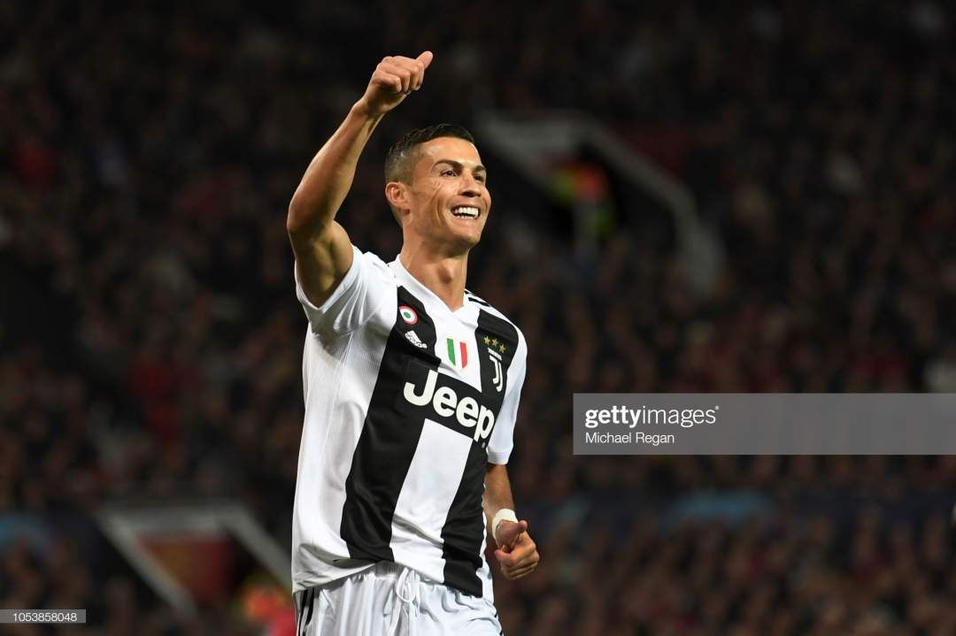 Cristiano Ronaldo Of Juventus In Action During The Group H Match Of Picture Id1053858048?s=28