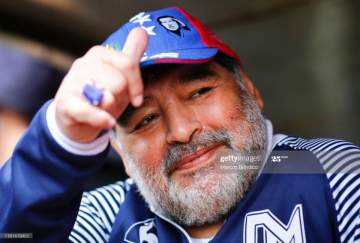 Diego Maradona: FIFA told to retire no.10 shirt in honour of late Argentina legend