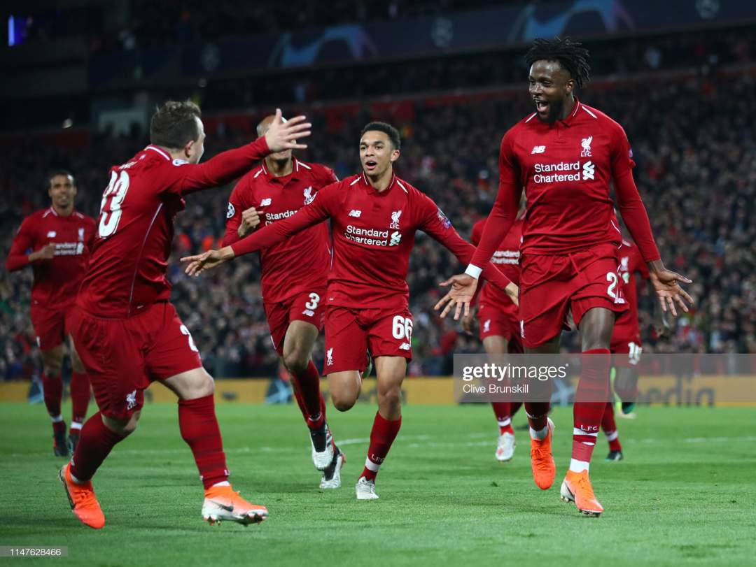 Divock Origi Of Liverpool Celebrates As He Scores His Teams Fourth Picture Id1147628466?s=28