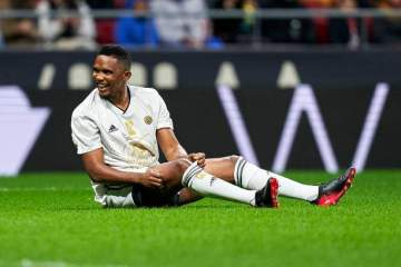 Samuel Eto'o reveals the big thing he did that made his parents allow him play football