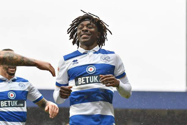 Eberechi Eze Of Queens Park Rangers Celebrates After Scoring His Picture Id1201128466?k=6&m=1201128466&s=&w=0&h=v1C8zVm4mlC77QoEAU2OII A0NP5V4uKlF0uv7UmLak=