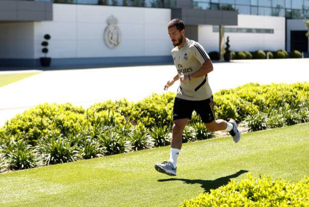 Eden Hazard Of Real Madrid During The Teams Training Session During Picture Id1214260947?k=6&m=1214260947&s=&w=0&h=2W95WZJrNx2lo8JsYsLqJmWs62 H9hO0Zbk8o7nkznY=