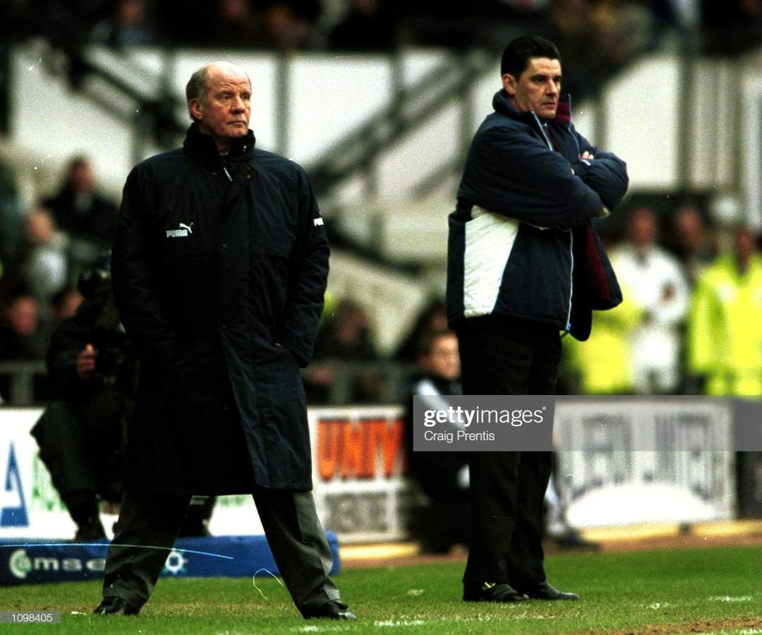Feb 2001 Managers Jim Smith Of Derby And John Gregory Of Aston Villa Picture Id1098405?s=28