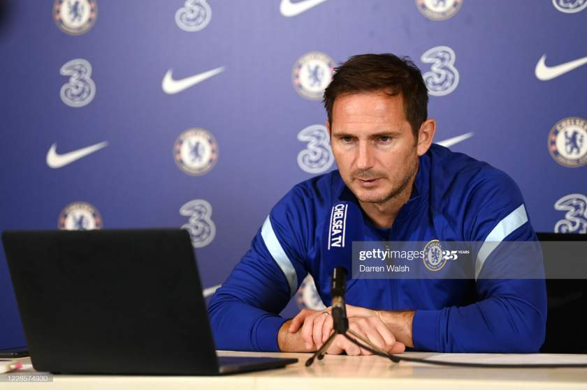 Frank Lampard Of Chelsea During A Press Conference At Chelsea Ground Picture Id1228574930?s=28