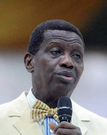Adeboye reveals only way COVID-19 can disappear completely