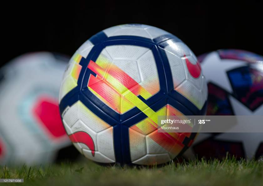 Generic Professional Matchballs On April 7 2020 In Manchester England Picture Id1217971056?s=28