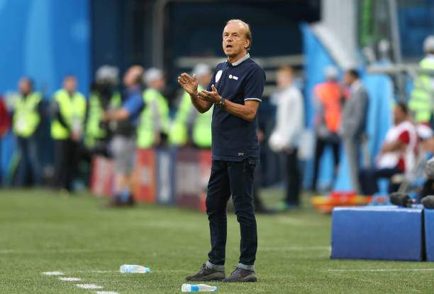 Gernot Rohr Manager Of Nigeria Gestures During The 2018 Fifa World Picture Id984477938?k=6&m=984477938&s=&w=0&h=tOVTkkwMwbKWUjPYQckVjkwGYOG6xAC3YD1rCRKAB1s=