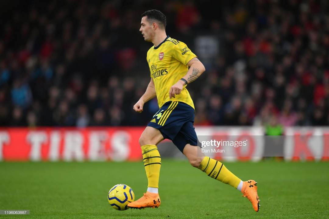 EPL: Top midfielder, Xhaka reaches agreement with new club