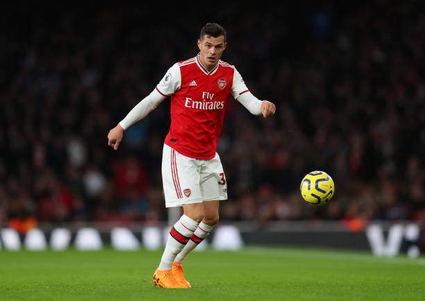 Granit Xhaka Of Arsenal During The Premier League Match Between Fc Picture Id1183841490?k=6&m=1183841490&s=&w=0&h=R7 S2TRA3v91Hk7fteBLOUVguc2v2wkFb9pA J2brbo=