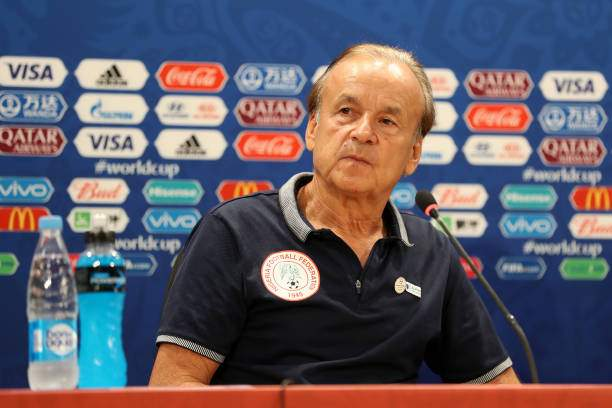 Head Coach Gernot Rohr Attends The Post Match Press Confernece The Picture Id981409028?k=6&m=981409028&s=&w=0&h=aw5pI21E N_2dc65KlBqHK1DO2fi6OYNGnpKfMGiei4=
