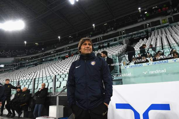 Head Coach Of Fc Internazionale Antonio Conte Looks On Before The A Picture Id1206107781?k=6&m=1206107781&s=&w=0&h=QHt_ZVHCy8s7ZvFsDveaVpvoJUwixLfxD8nel0FwjYc=