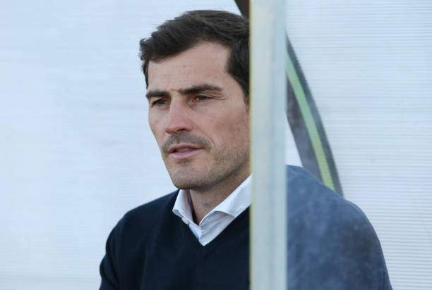 Iker Casillas Of Fc Porto Before The Start Of The Preseason Friendly Picture Id1155982966?k=6&m=1155982966&s=&w=0&h=a6S9jVGteOZCIAs29ncvUud0XcnWQqVRV62ESeDJojc=