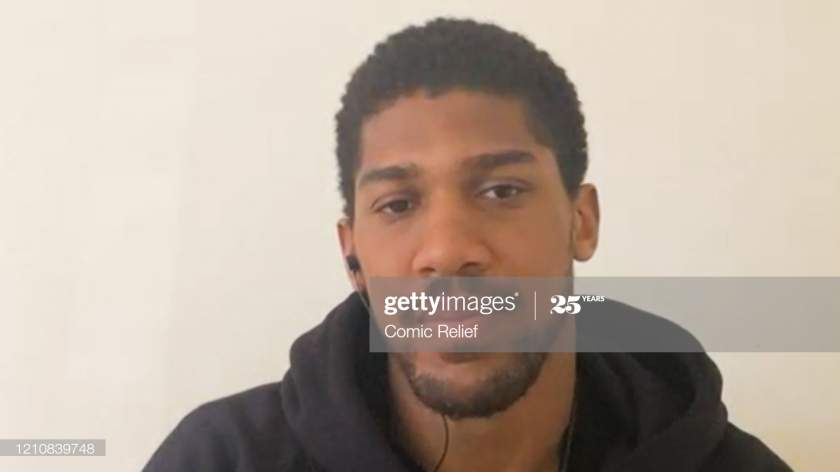 In This Screengrab Anthony Joshua Takes Part In The Bbc Children In Picture Id1210839748?s=28