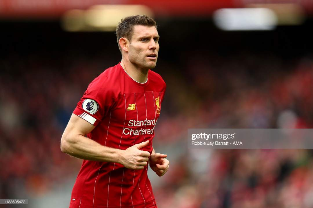 James Milner Of Liverpool During The Premier League Match Between Fc Picture Id1188695422?s=28