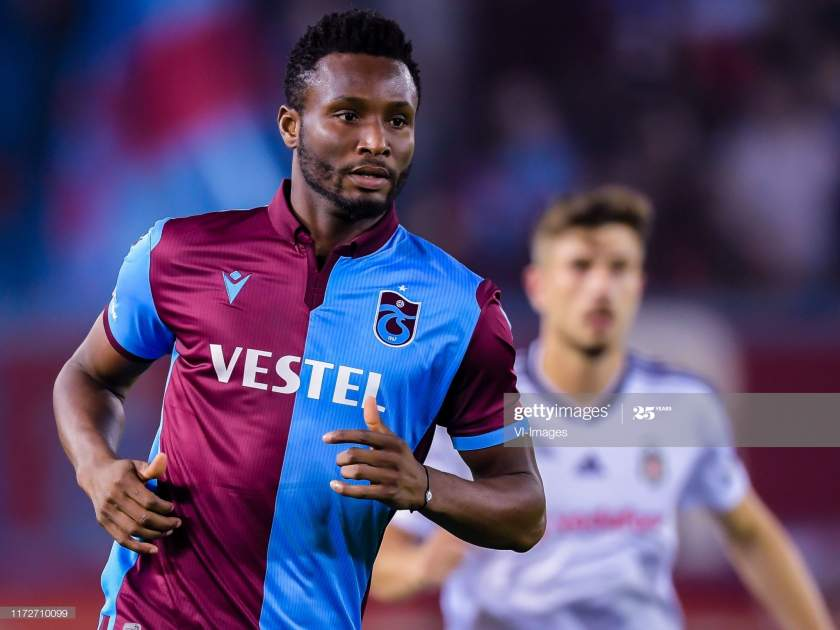 John Obi Mikel Of Trabzonspor As During The Turkish Spor Toto Super Picture Id1172710099?s=28