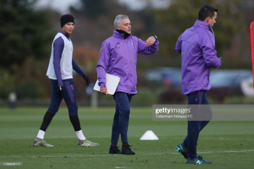 Jose Mourinho Head Coach Of Tottenham Hotspur During The Tottenham Picture Id1188938177?s=28