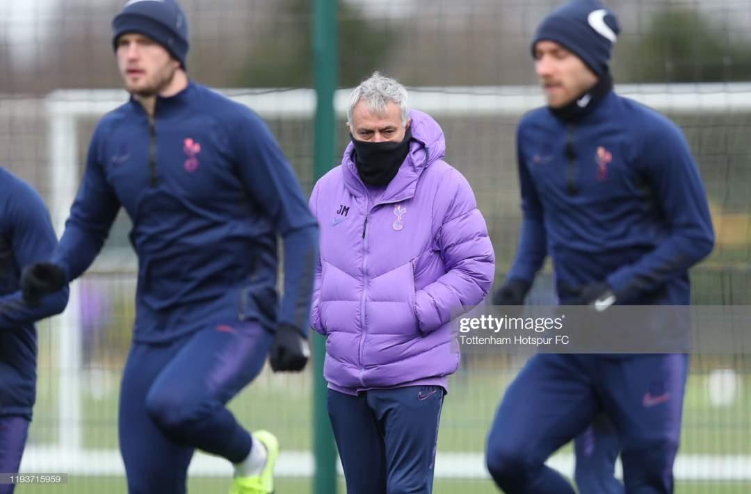 Jose Mourinho Head Coach Of Tottenham Hotspur During The Tottenham Picture Id1193715959?s=28