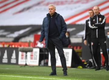 EPL: Mourinho reveals who to blame for Tottenham's 3-1 defeat at Sheffield