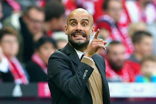 Josep Guardiola Head Coach Of Muenchen Reacts During The Bundesliga Picture Id494050430?k=6&m=494050430&s=&w=0&h=qyIlok1VT07vvLomkoH__bxS _v3RIEkU967Tqv6b7A=