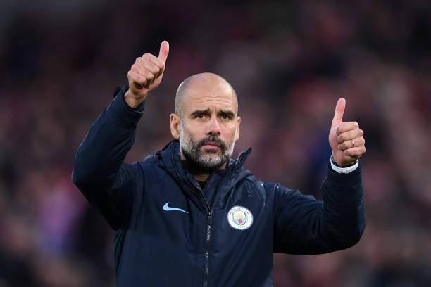 Josep Guardiola Manager Of Manchester City Acknowledges The Fans The Picture Id1047169712?k=6&m=1047169712&s=&w=0&h=F3uEu1lZ2ZsSVC80NhKuwYyceOd4bCI12ILyGsya5oM=