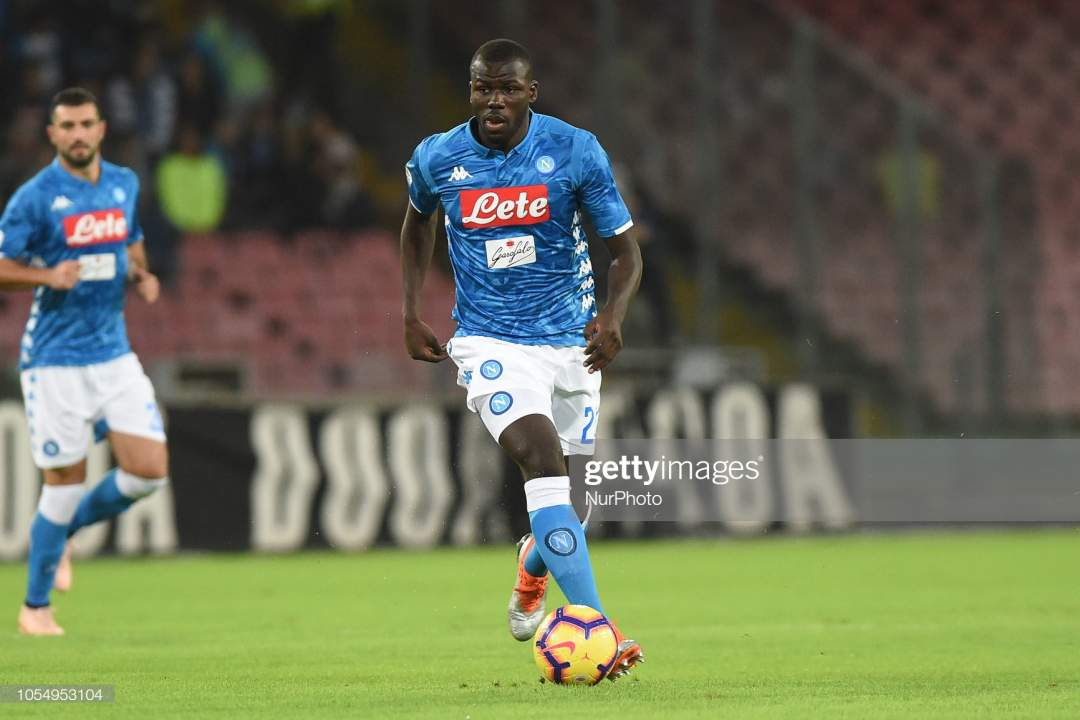 Kalidou Koulibaly Of Ssc Napoli During The Serie A Tim Match Between Picture Id1054953104?s=28