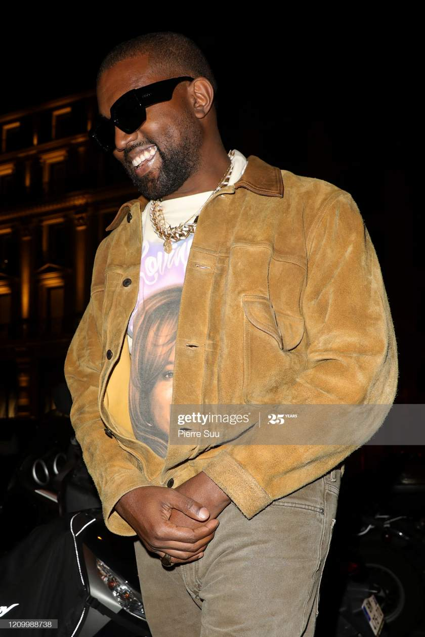 Kanye West Is Seen Leaving A Restaurant After His Show On March 02 Picture Id1209988738?s=28
