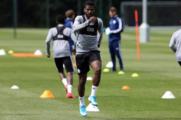 Kelechi Iheanacho Of Leicester City During The Leicester City At Picture Id1218886084?k=6&m=1218886084&s=&w=0&h=sSH74rc1OtGnhNLe1hA6_IA1TJk4DKcqozb2ES7oXR8=