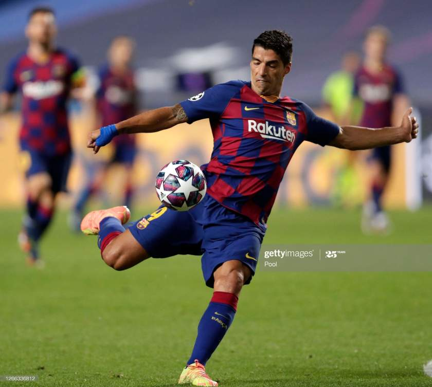 Luis Suarez's Man Utd clause in Barcelona contract revealed