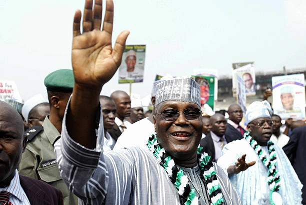Lagos Nigeria Nigerian Vice President Atiku Abubakar Waves At 20 Picture Id72855014?k=6&m=72855014&s=&w=0&h=r0bcOHnM18IL99jDmdwWSk136o3lUEbIvN1QW2icCbA=