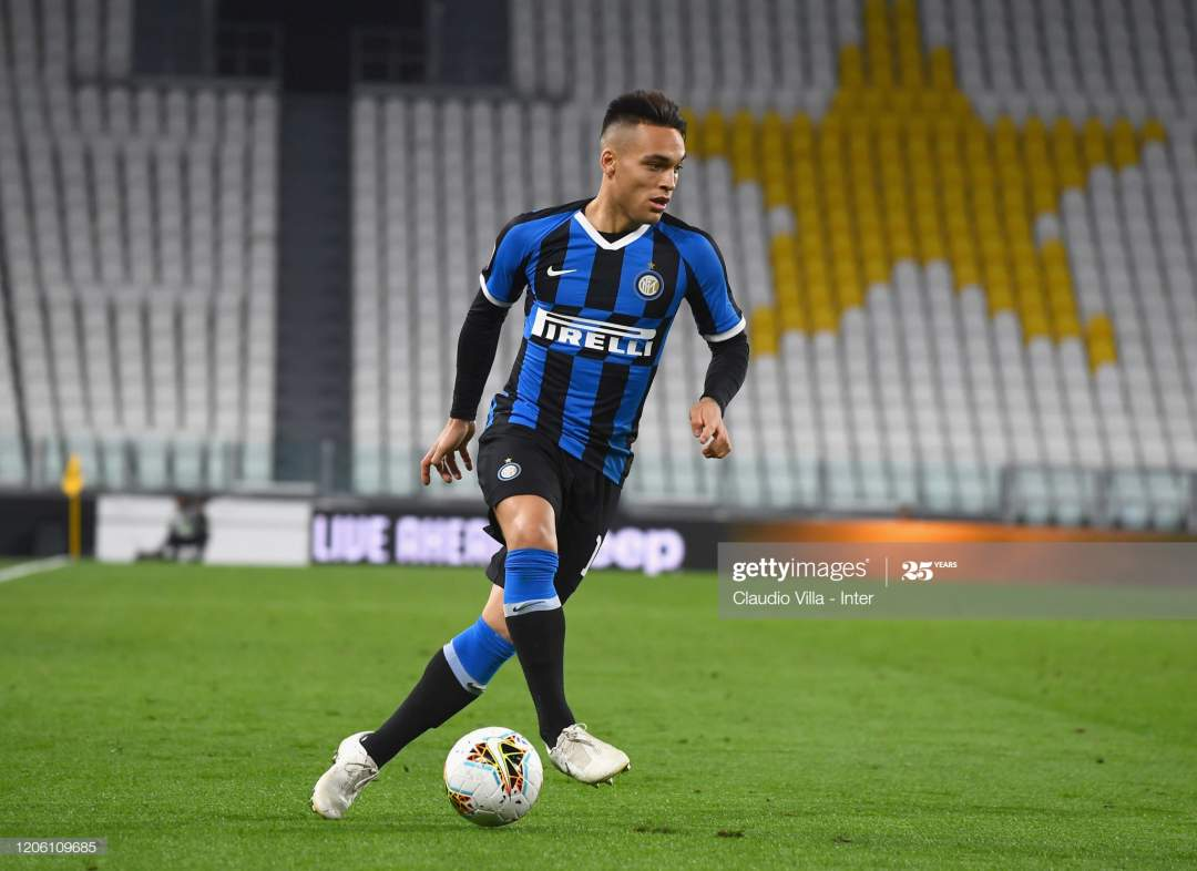 Lautaro Martnez Of Fc Internazionale In Action During The Serie A Picture Id1206109685?s=28