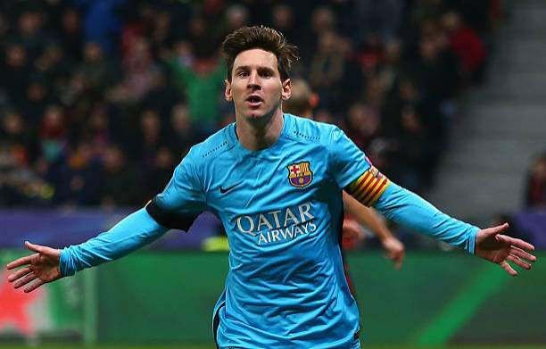 Lionel Messi Of Barcelona Celebrates Scoring The First Barcelona Goal Picture Id500635430?k=6&m=500635430&s=&w=0&h=OCg7MROcw1tuveKLdnNouWwixpwIsIi1nxWj8_Pgqes=