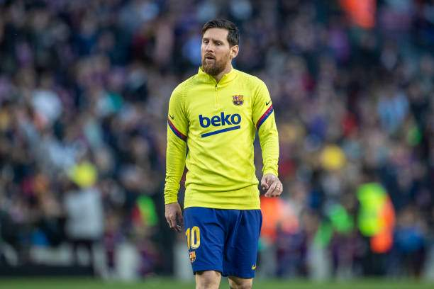 Lionel Messi Of Barcelona During Team Warm Up Before The Barcelona V Picture Id1211643746?k=6&m=1211643746&s=&w=0&h=mt5dTog034VzkJetoV GlotYA8opxaNJEyidHsqqqN4=