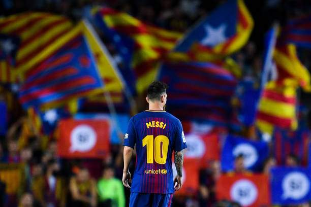 Lionel Messi Of Fc Barcelona Looks On As Catalan Proindependence Are Picture Id849760816?k=6&m=849760816&s=&w=0&h=NQXH6cIgWhFMJxbuusZB14niOE21vmm0DtuU_LpiDgM=