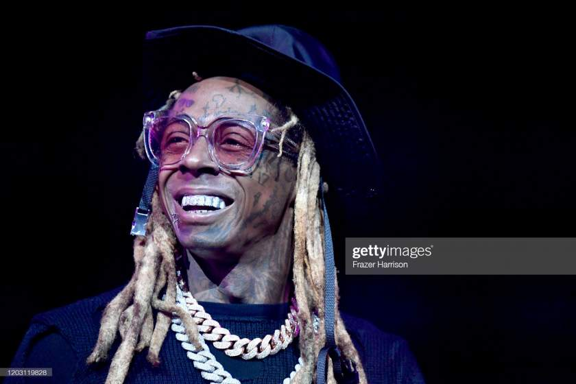Lil Wayne Performs Onstage During The Ea Sports Bowl At Bud Light Picture Id1203119828?s=28