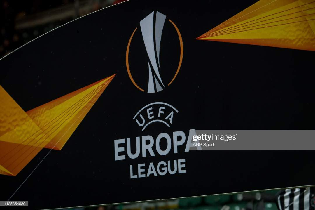 Logo Europa League During The Uefa Europa League Group L Match Az Picture Id1185354630?s=28