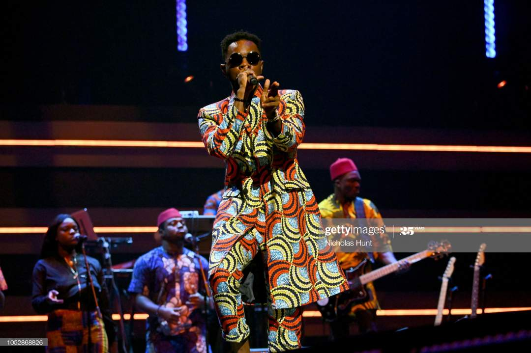 Patoranking Performs Onstage During The 4th Annual Tidal X Brooklyn Picture Id1052868826?s=28