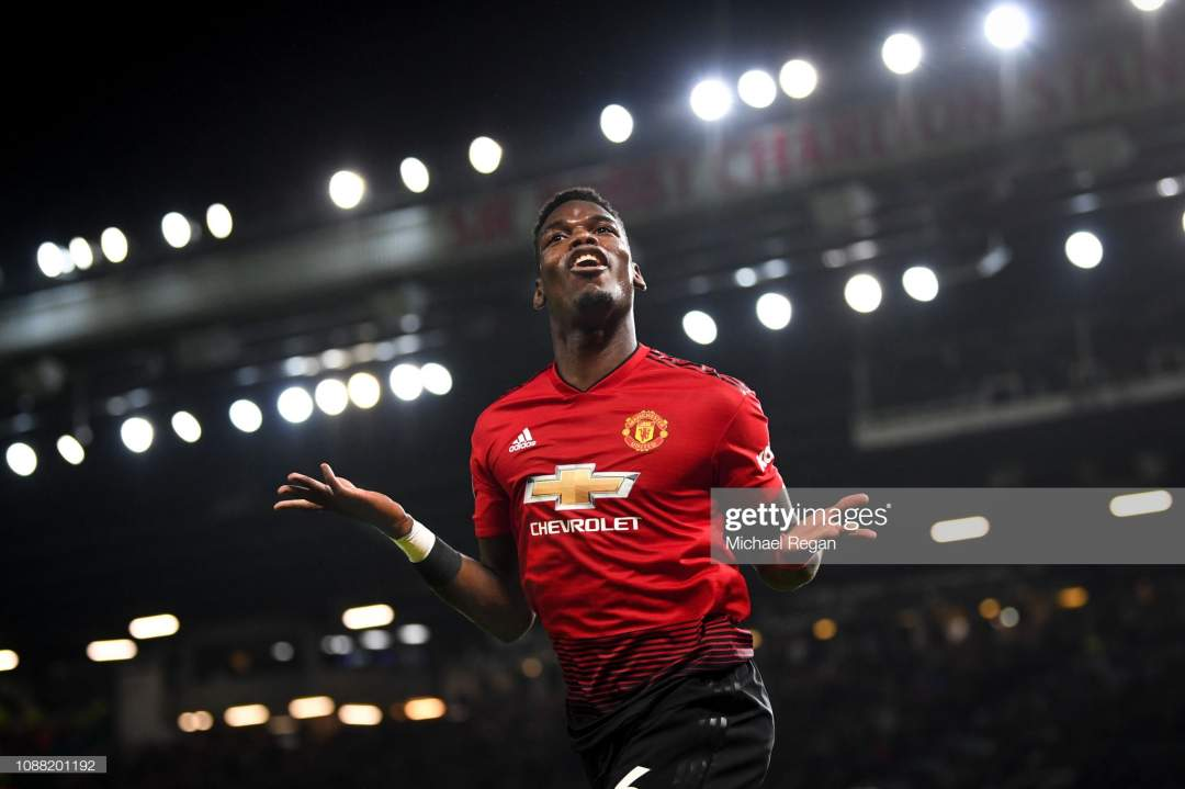 Paul Pogba Of Manchester United Celebrates As He Scores His Teams Picture Id1088201192?s=28