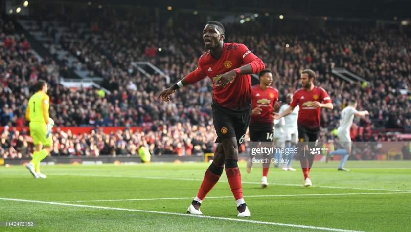 Paul Pogba Of Manchester United Celebrates As He Scores His Teams Picture Id1142472152?s=28