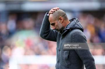 EPL: Guardiola names Man United players that destroyed Man City in 2-1 loss