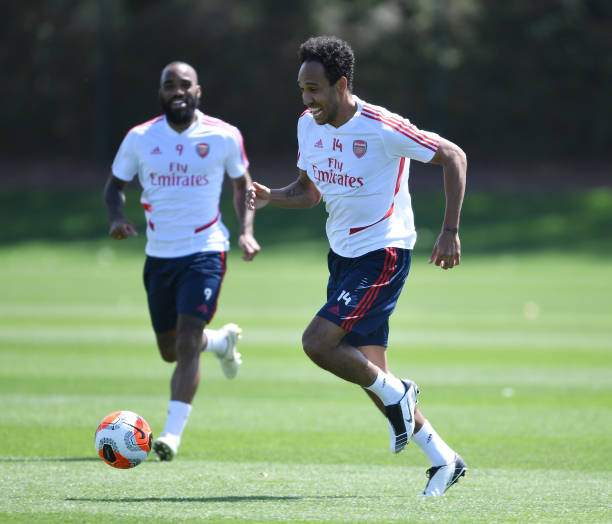 Pierreemerick Aubameyang Of Arsenal During A Training Session At On Picture Id1226459898?k=6&m=1226459898&s=&w=0&h=xADtruuksltv4VguIX1RJaAzRXFoaztZNedlg2cc_co=